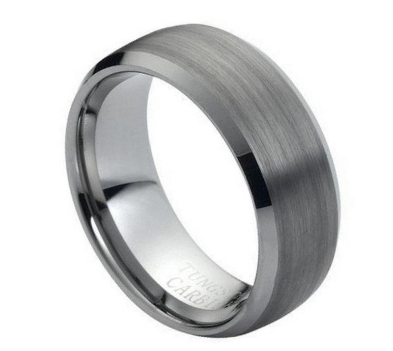 M 007   Tungsten Wedding Band