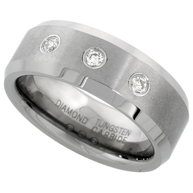 d 002 tungsten wedding band - Tungsten Mens Wedding Rings